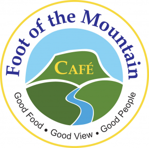 Foot of the Mountain Cafe current menu